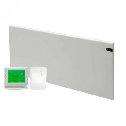 ADAX NEO Modern Electric Panel Heater, Wall Mounted + Wireless Timer, Thermostat