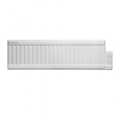 Adax ALO eco Oil-Filled Electric Radiator, Low Profile + Wireless Timer, Thermostat