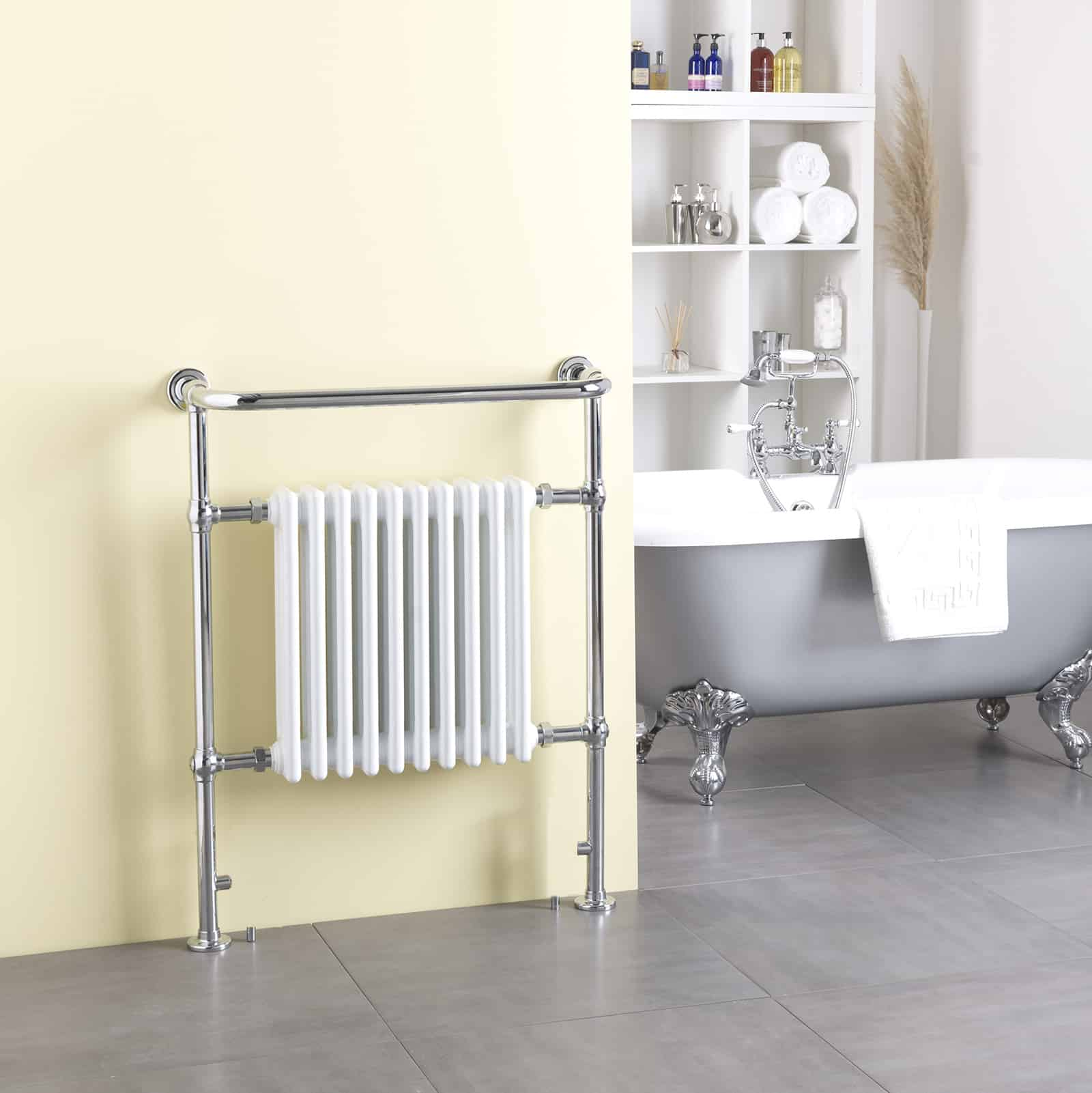 Heated Towel Rail Timer Wiring Diagram: Aura Rex Traditional Victorian Heated Towel Rail