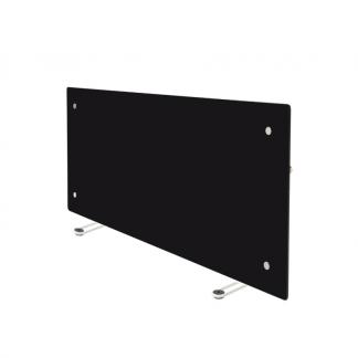 Adax Clea WIFI Portable Glass Electric Heater in Black