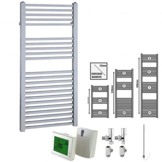 Dual Fuel Towel Warmers With Wireless Timer
