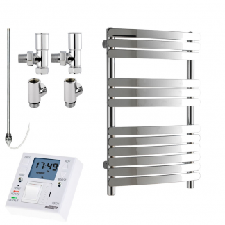 Dual Fuel Towel Warmers With Fused Spur Timer