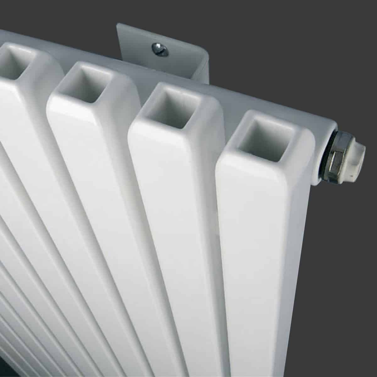 Wall Mounted Oil Filled Radiator >> Eucotherm Vulcan Hollow Square Tube Modern Designer ...