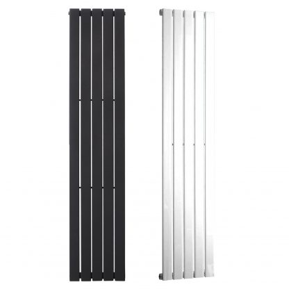 Aura Heat Vertical Flat Panel Designer Radiator For Central Heating