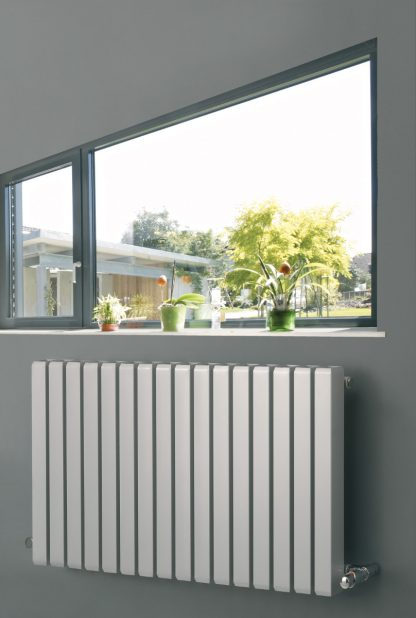 Eucotherm Vulcan Hollow Square Tube Modern Designer Vertical / Horizontal Radiator - Central Heating