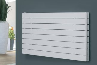 Eucotherm Mars DELUXE Double Flat Panel Modern Horizontal Radiator, Wide - Central Heating
