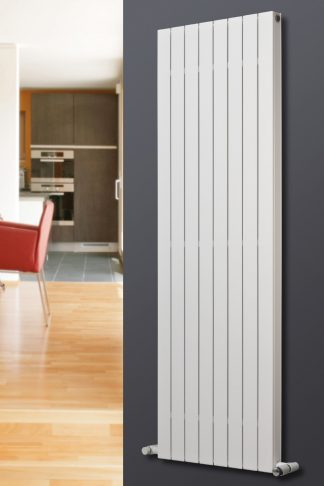 Eucotherm Mars DELUXE Double Flat Panel Modern Vertical Radiator, Tall - Central Heating