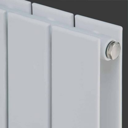 Eucotherm Mars Double Flat Panel Modern Vertical Radiator, Tall - Central Heating