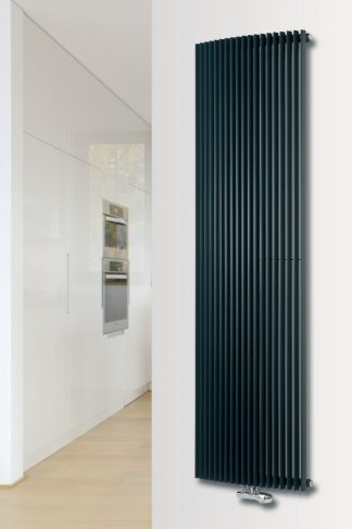 Eucotherm Chrorus DUO Triangle Tube Modern Vertical Designer Radiator, Tall - Central Heating