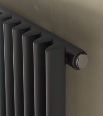 Eucotherm Chrorus SINGLE Triangle Tube Modern Vertical Designer Radiator, Tall - Central Heating