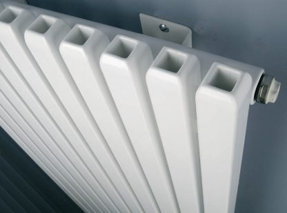 Eucotherm Supra Hollow Square Tube Modern Vertical Radiator, Tall - Central Heating