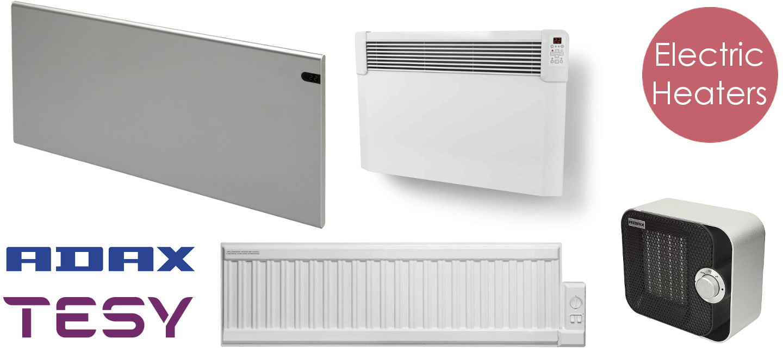Adax & Tesy Electric Panel Heaters Wall Mounted / Portable, Fan Heater, Oil Filled Electric Radiators. Buy Online - UK Shop. Include the Neo, Clea, CN04, Gnosjo