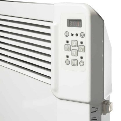 Tesy CN04 Splash Proof Electric Panel Heater, Wall Mounted With Timer