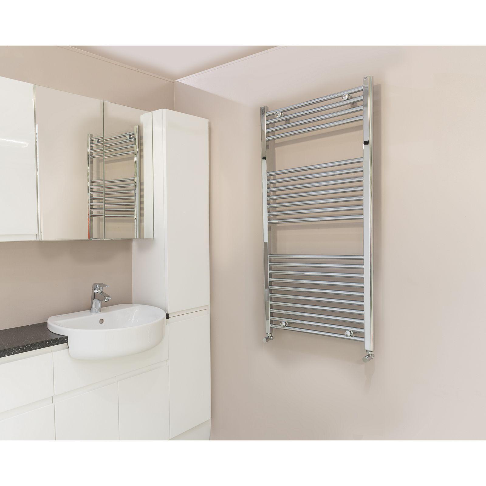 Qual-Rad Heated Towel Rail / Warmer / Radiator – Central Heating 6