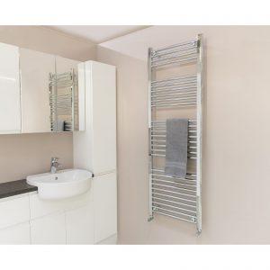 Qual-Rad Heated Towel Rail / Warmer / Radiator – Central Heating 7