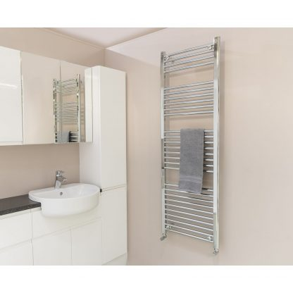 Qual-Rad Heated Towel Rail / Warmer / Radiator - Central Heating