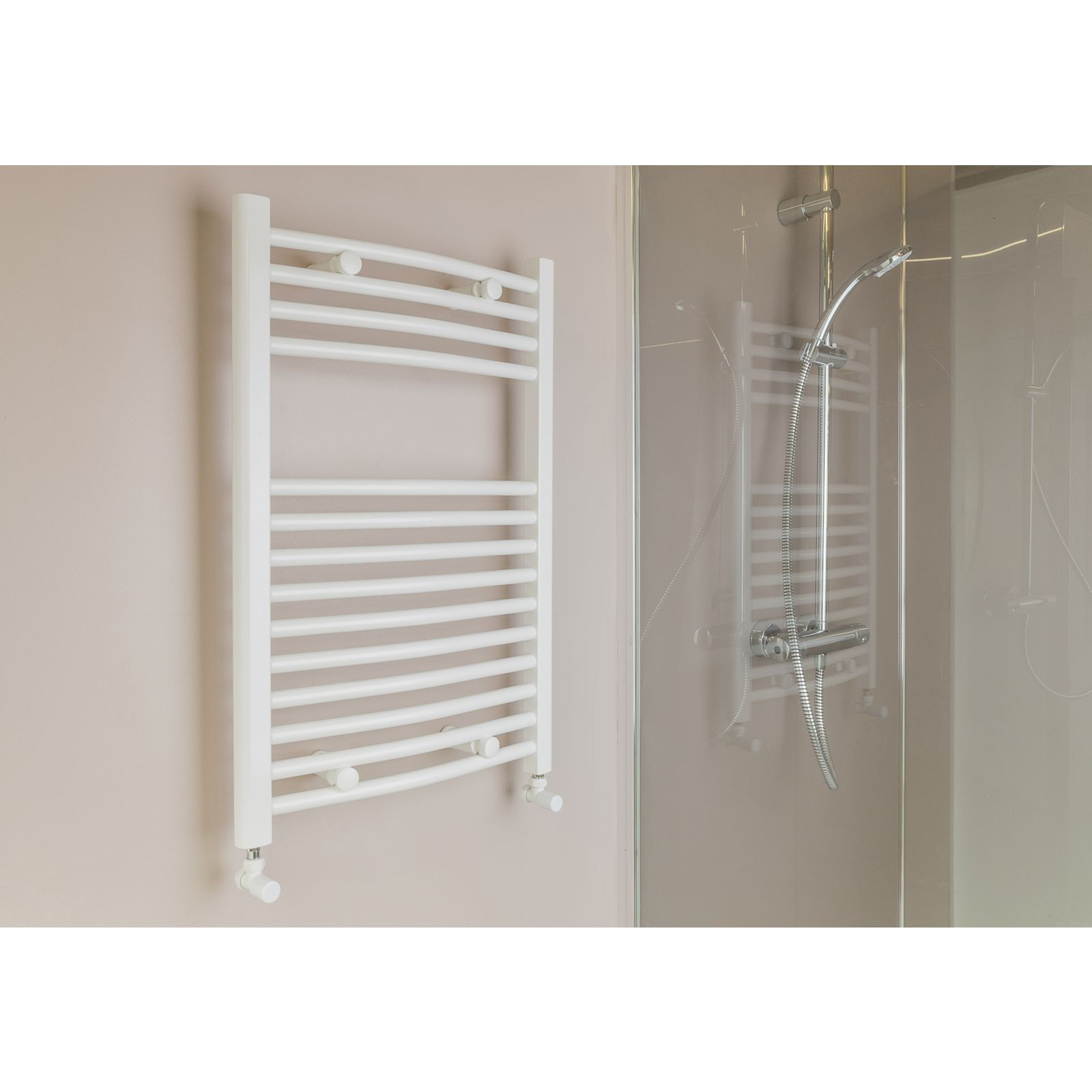 Qual-Rad Heated Towel Rail / Warmer / Radiator – Central Heating 3