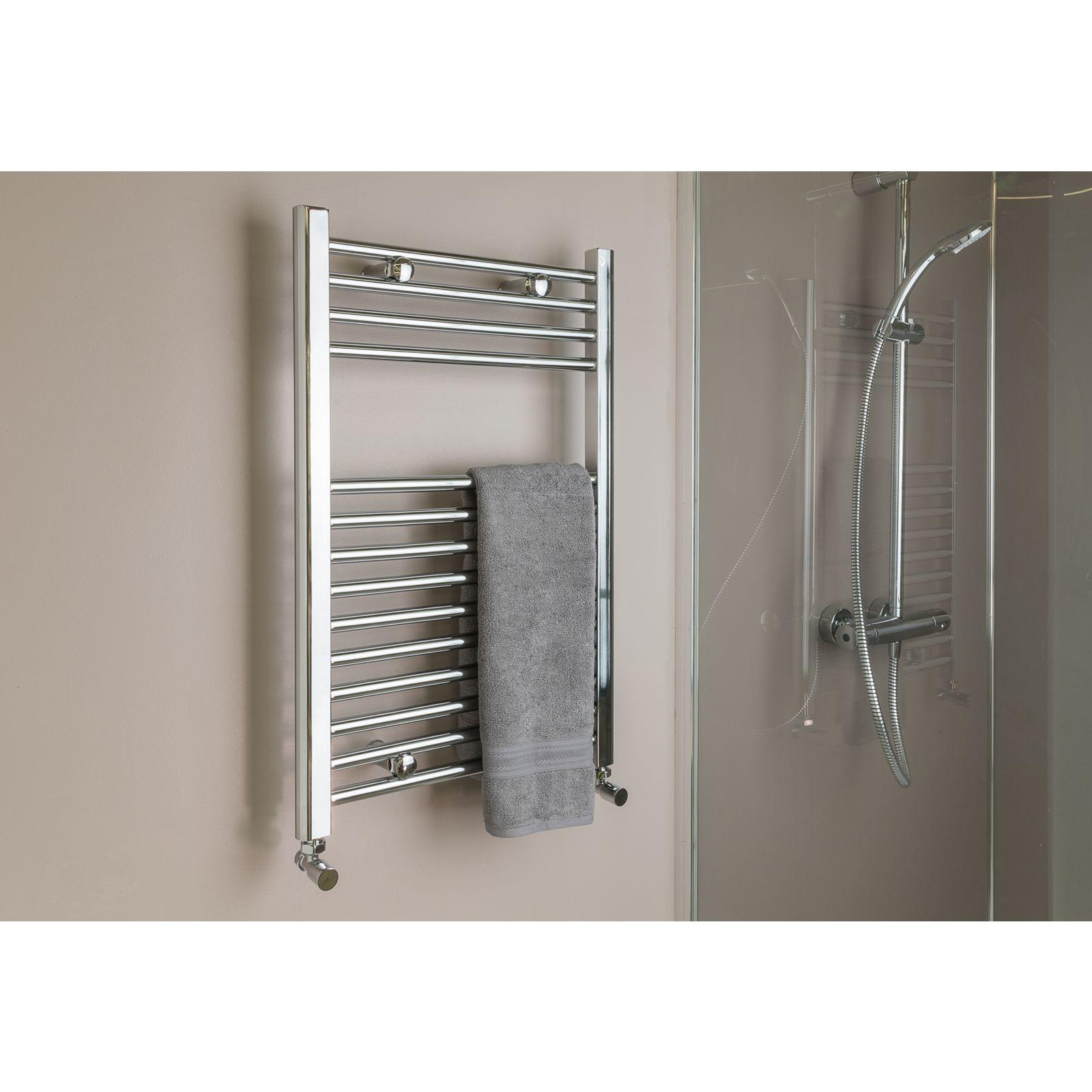 Qual-Rad Heated Towel Rail / Warmer / Radiator – Central Heating 4