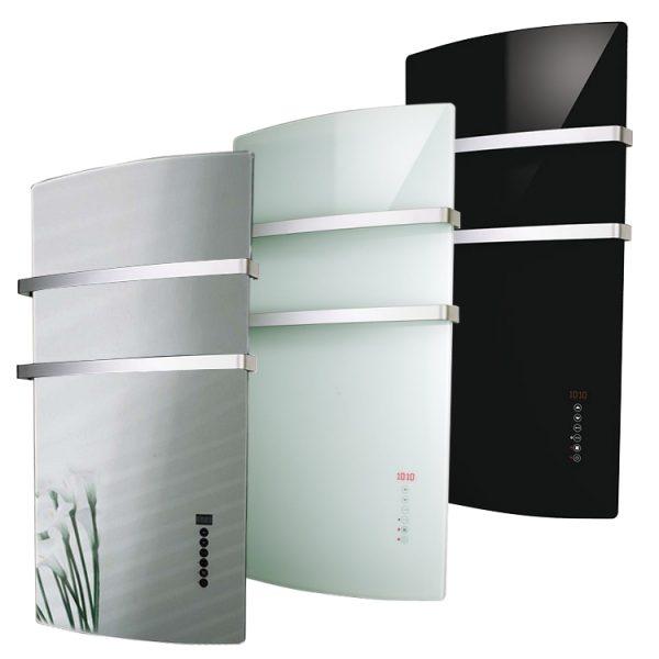 Radialight Deva, Large Infrared Electric Bathroom Heater +Towel Rail / Radiant Convector