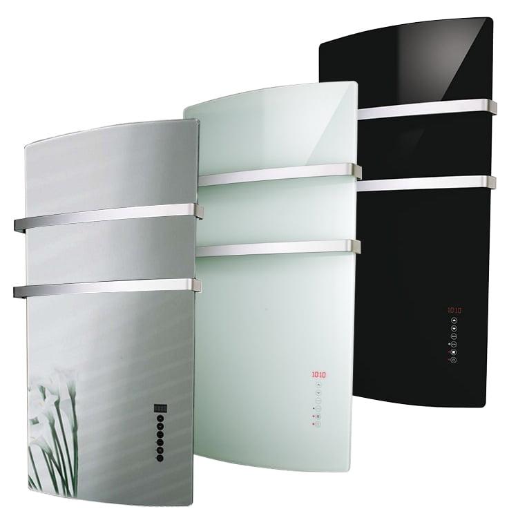 Radialight Deva Bathroom Downflow Heater Towel Rail