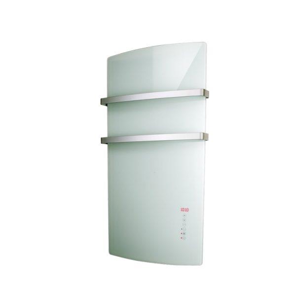 Radialight Deva, Electric Bathroom Heater + Heated Towel Rail (Glass Front)