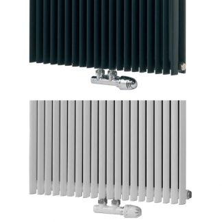 Eucotherm Deluxe Designer Radiator Valves , Centre Position