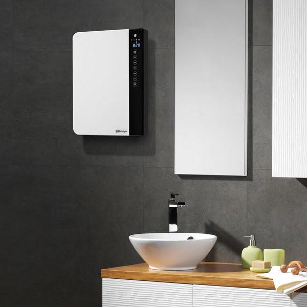 Radialight Windy Electric Bathroom Fan Heater + Heated Towel Rail, 1800W