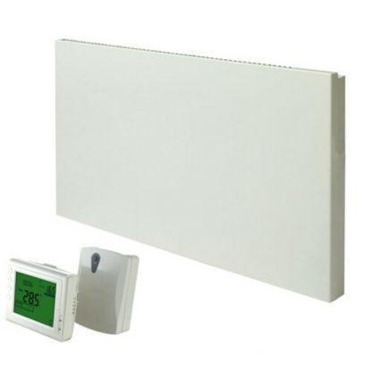 Adax VP11 Electric Panel Heater, Convector Radiator with Wireless Timer and Thermostat