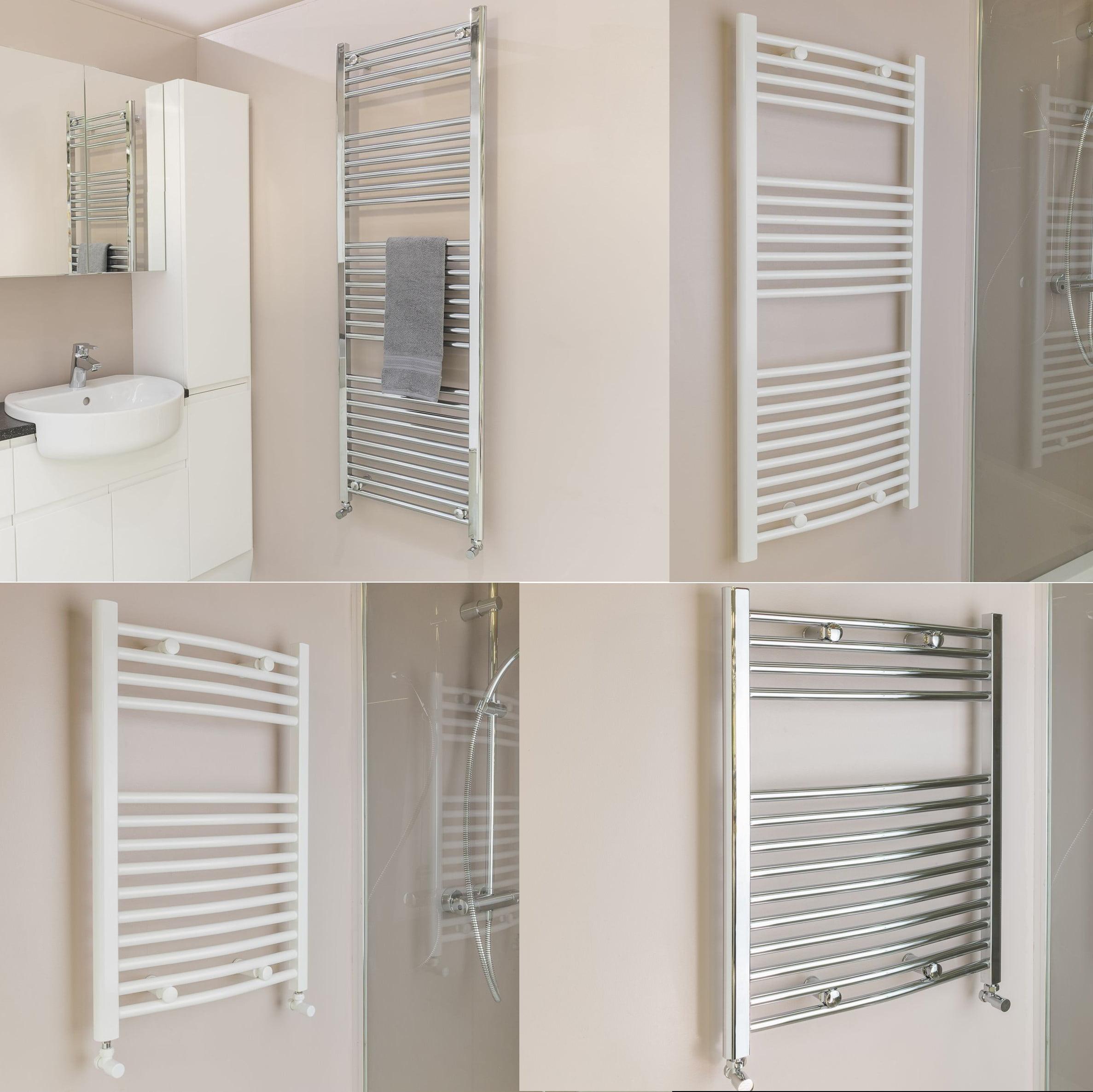 Qual-Rad Heated Towel Rail / Warmer / Radiator – Central Heating 1