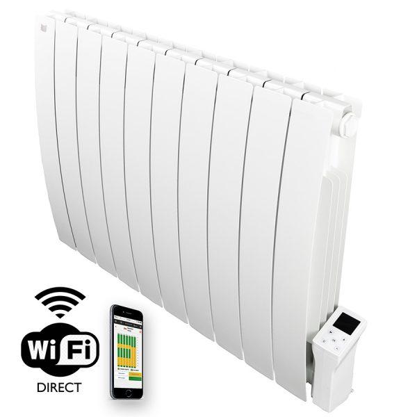 Deltacalor Forte Wifi Aluminum Oil Filled Electric Panel Heater + Timer