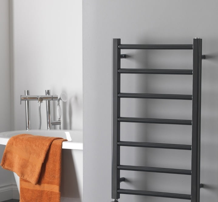 Buy Anthracite Designer Heated Towel Rails UK Shop.