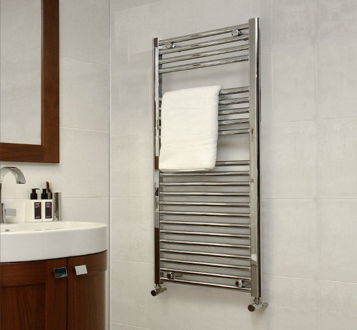 Buy Heated Towel Rails UK Shop - Central Heating, Electric, Dual Fuel