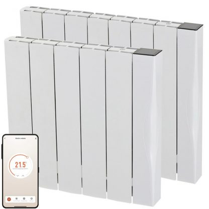 SolAire EXO Aluminium WIFI Electric Panel Heater, Wall Mounted